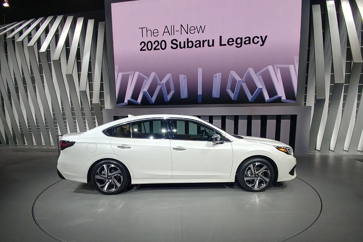 Car Show Chicago 2020.All New 2020 Subaru Legacy Unveiled At Chicago Auto Show