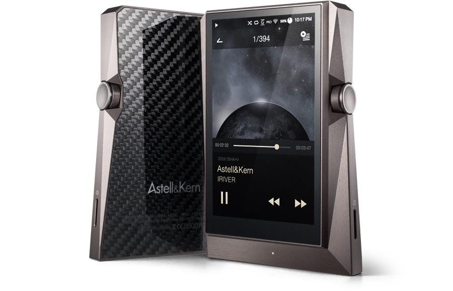 The AK380 supports a host of high resolution audio formats including WAV, FLAC and AIFF, as well as lossy formats like MP3, WMA and AAC