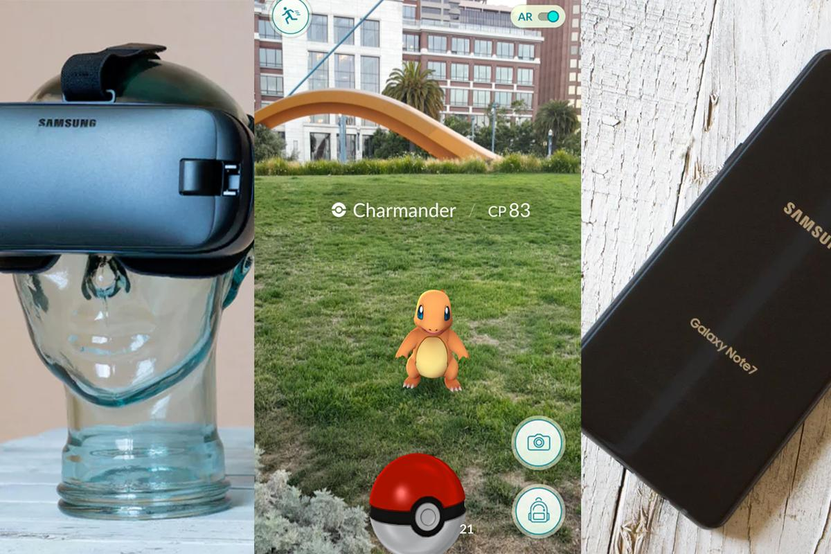 Some of 2016's tech hits and misses: Samsung Gear VR, Pokemon Go and the Galaxy Note 7