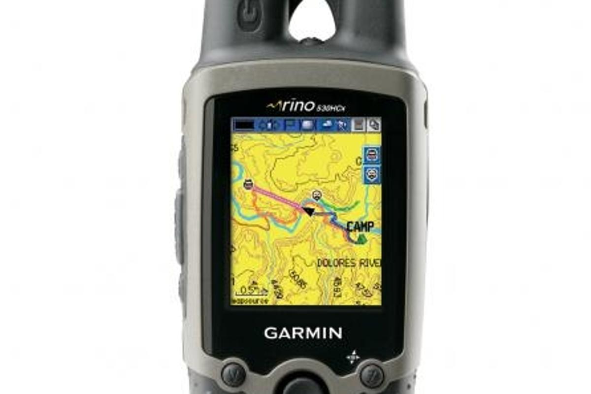 The Garmin Rino 530HCx