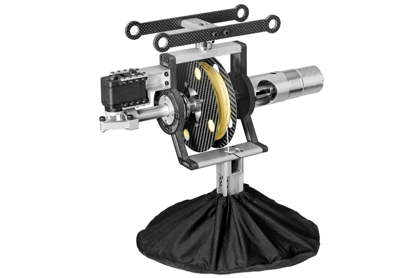 A closer look at the RDS1 reel system