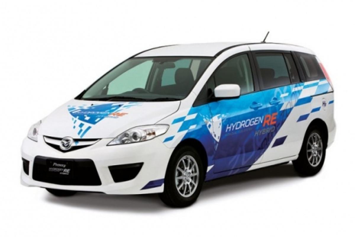 Mazda's Premacy Hydrogen RE Hybrid
