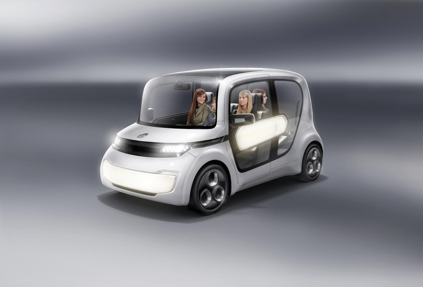 At Geneva this year, EDAG unveiled the third member of what's fast becoming its all-electric Light Car range: the EDAG Light Car - Sharing (let's call it the LC-S for short)