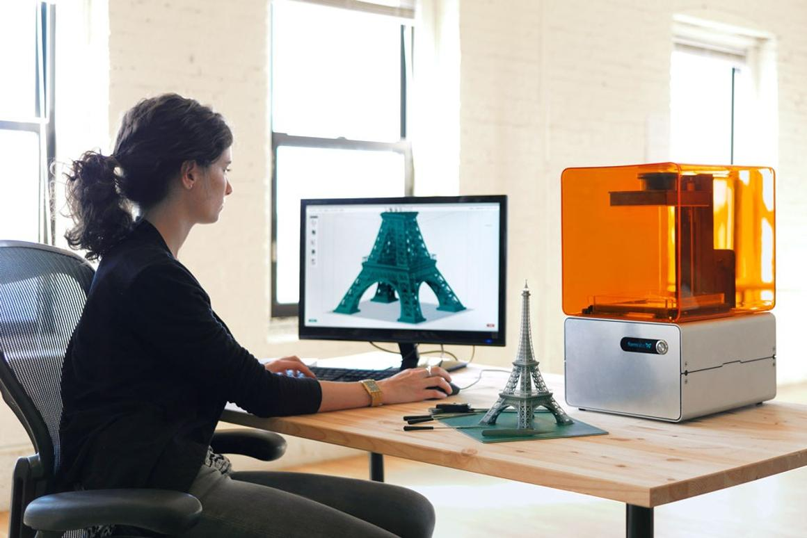Formlabs desktop 3D printer Form 1