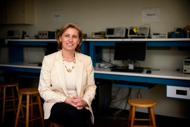 Engineering professor Maite Brandt-Pearce