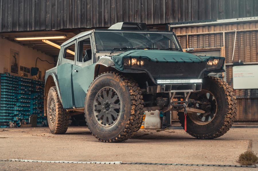 The Fering Pioneer, a hybrid-electric expedition vehicle built to tackle some of the toughest environments on the planet