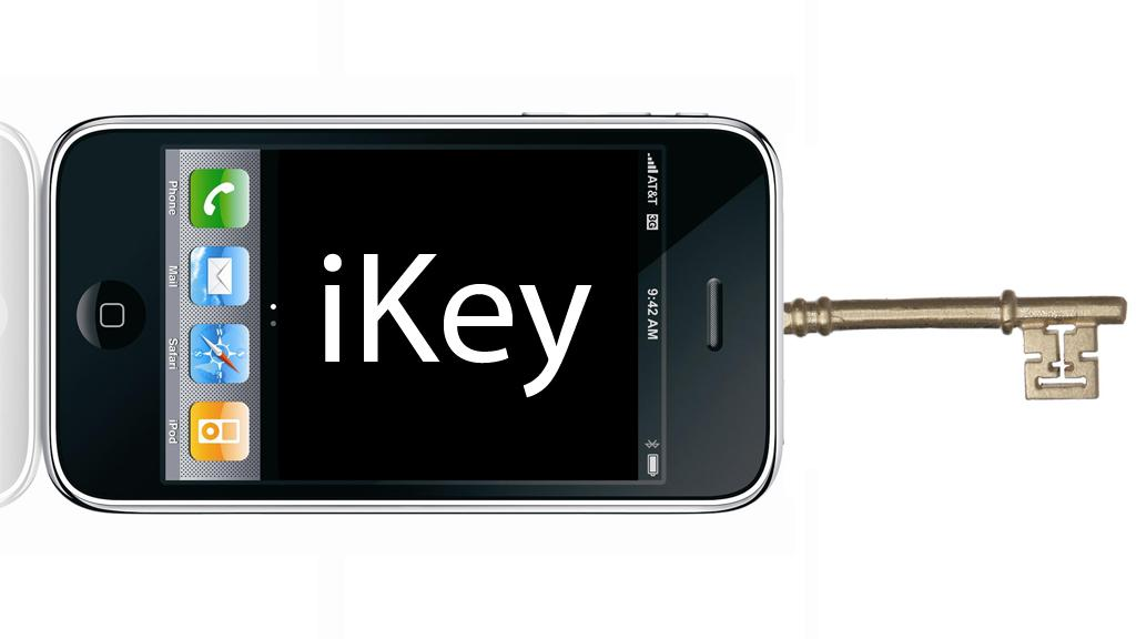 Apple's iKey would see your keys and wallet replaced by an iPhone or similar device