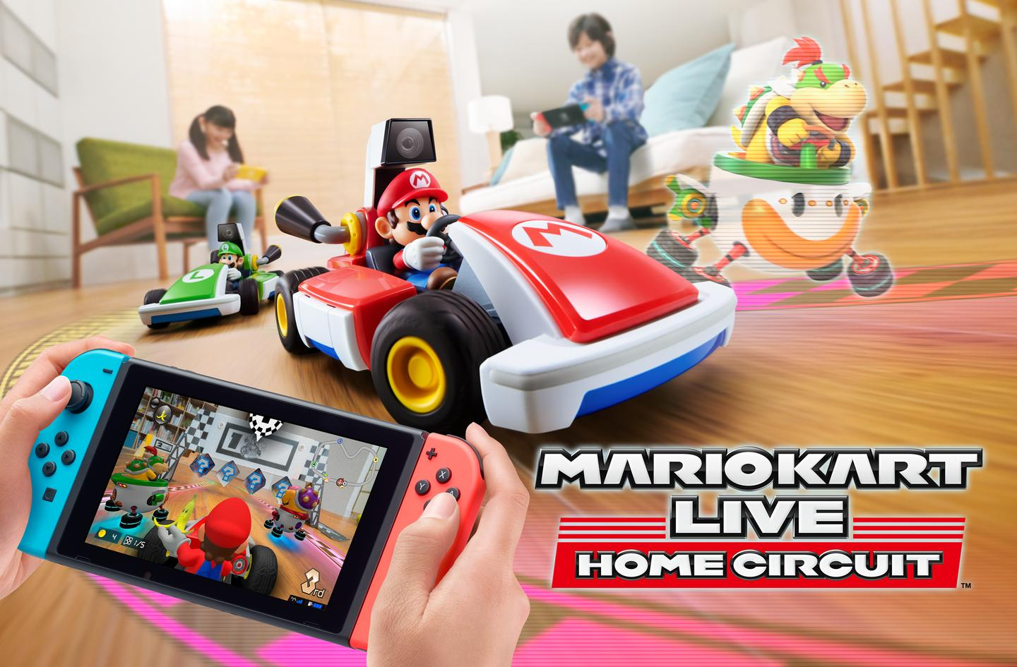 Mario Kart Live: Home Circuit is a new augmented reality Mario Kart game for the Nintendo Switch