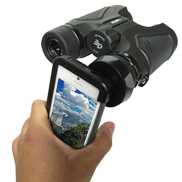 Carson Optical's binocular adaptor for iPhone 5