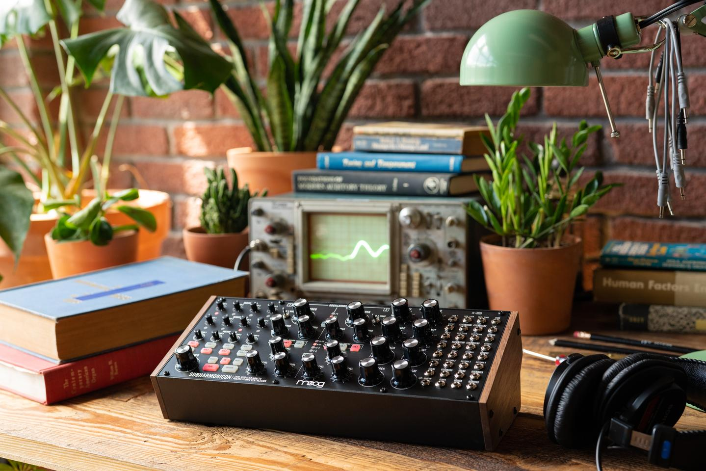 """This instrument was inspired by some of the ideas and musical concepts of [Joseph] Schillinger,"" said Moog Music's Steve Dunnington"