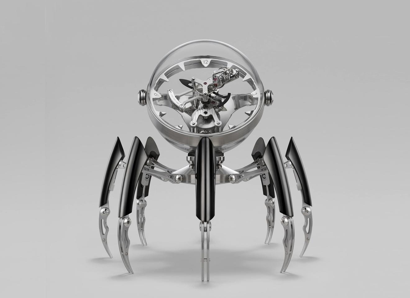 The Octopod measures 28 cm (11 in) across and 28 cm tall when standing