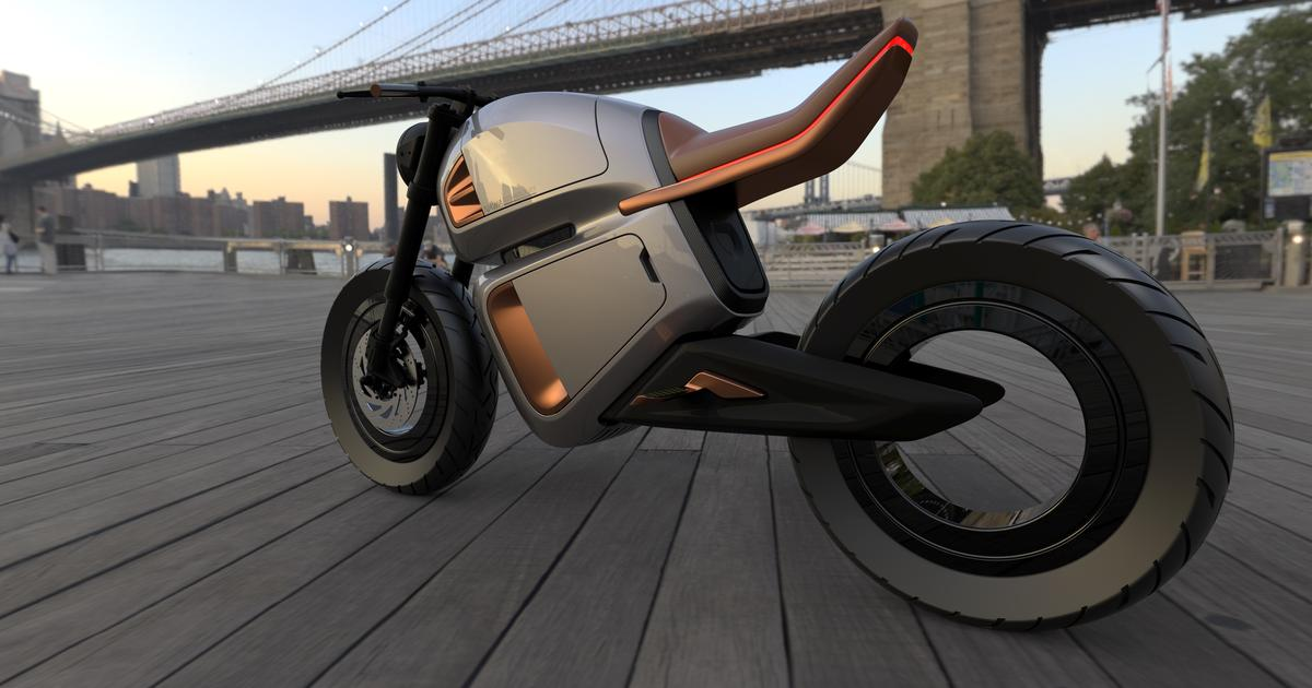 Nawa's ultracapacitor-hybrid e-moto radically boosts power and range