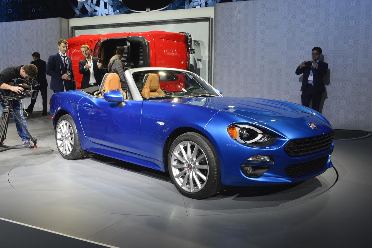 Fiat's new car, the Fiat 124 Sport Spider, is a re-interpretation of an old favorite