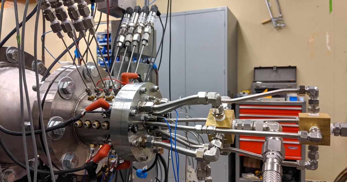 Computer modeling brings simple, efficient rocket engine closer to reality