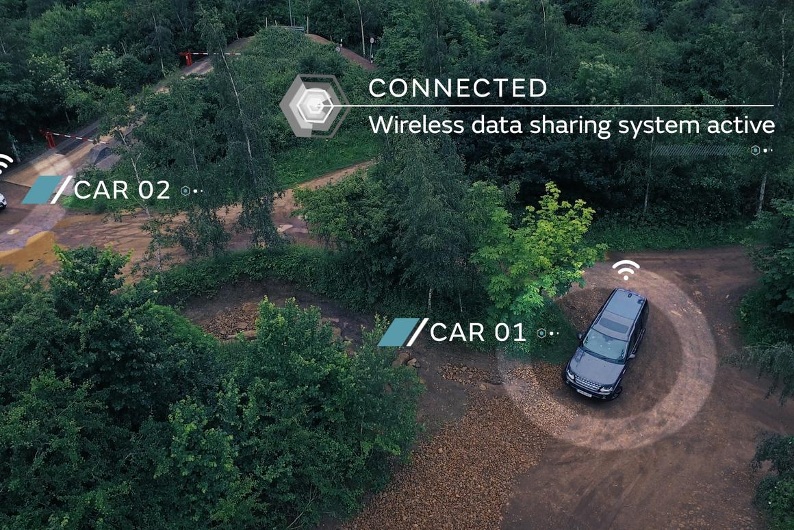 Car-to-car communications would allow information on driving conditions to be shared
