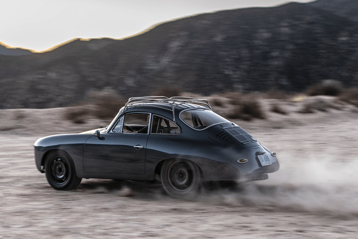 Emory turns classic Porsche 356 into all-terrain, rally