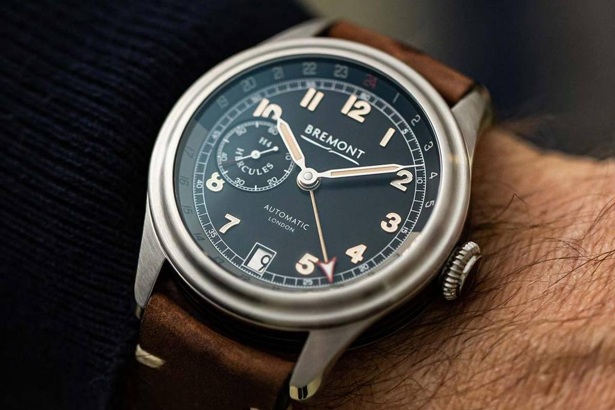 The Bremont H-4 Hercules collection comes in three variants