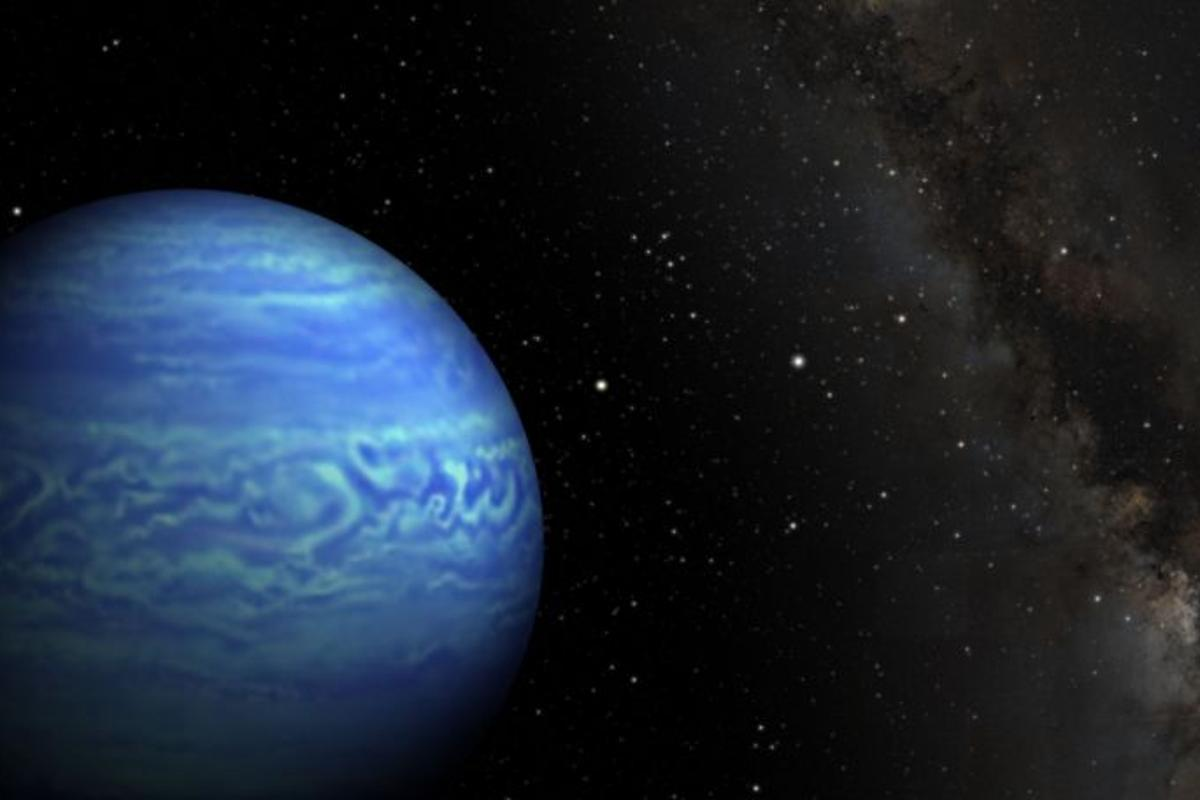 WISE J085510.83-071442.5.0 is the coldest brown dwarf yet found (Image: NASA)