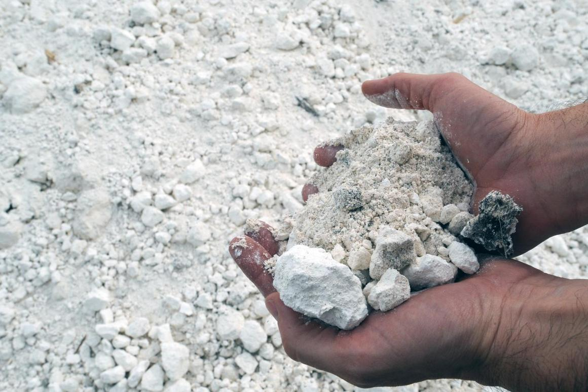 Gypsum can be mined from the earth, but it's also readily available as an emissions-scrubbing byproduct