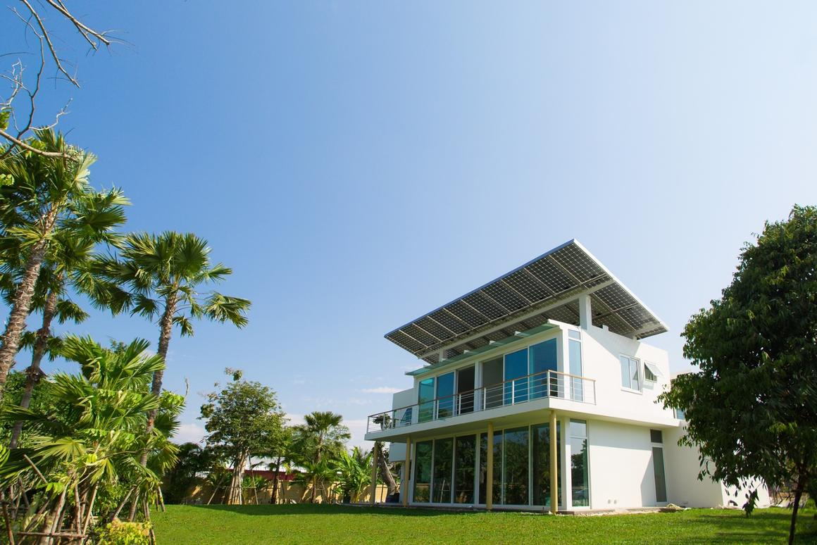 The Phi Suea House development is said to be the first in the world to run on solar-powered hydrogen energy storage