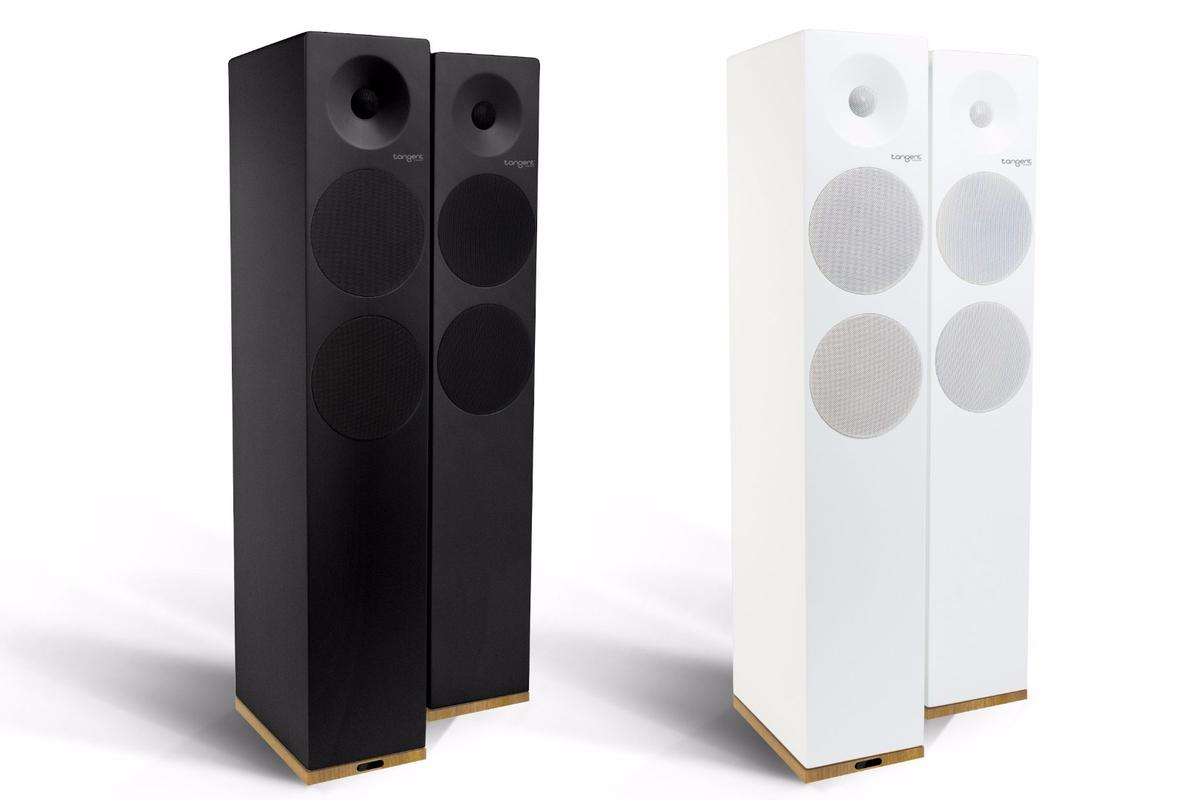 The Tangent Spectrum X6 Bluetooth speakers are available now in black or white matte finish