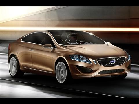 The Volvo S60 with added driver and pedestrian safety features