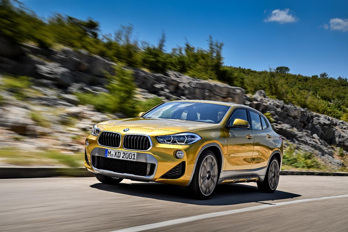 BMW X2: 0-60mph in 6.3 seconds