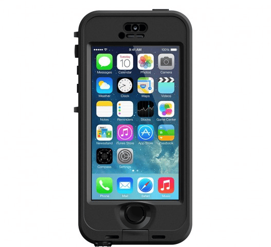 The The Lifeproof nüüd case lets users actually touch the screen