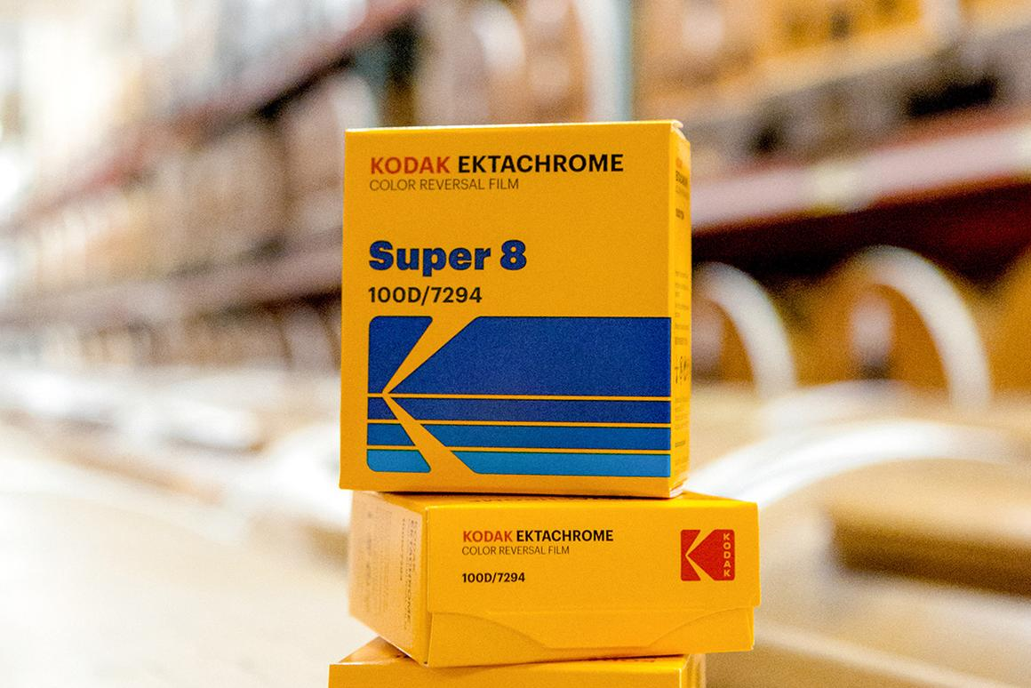 35mm film is shipping now with Super 8 and 16mm to soon follow
