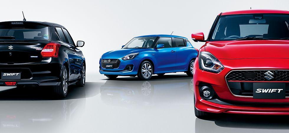 The new Swift is available in hybrid, turbo and naturally-aspirated versions