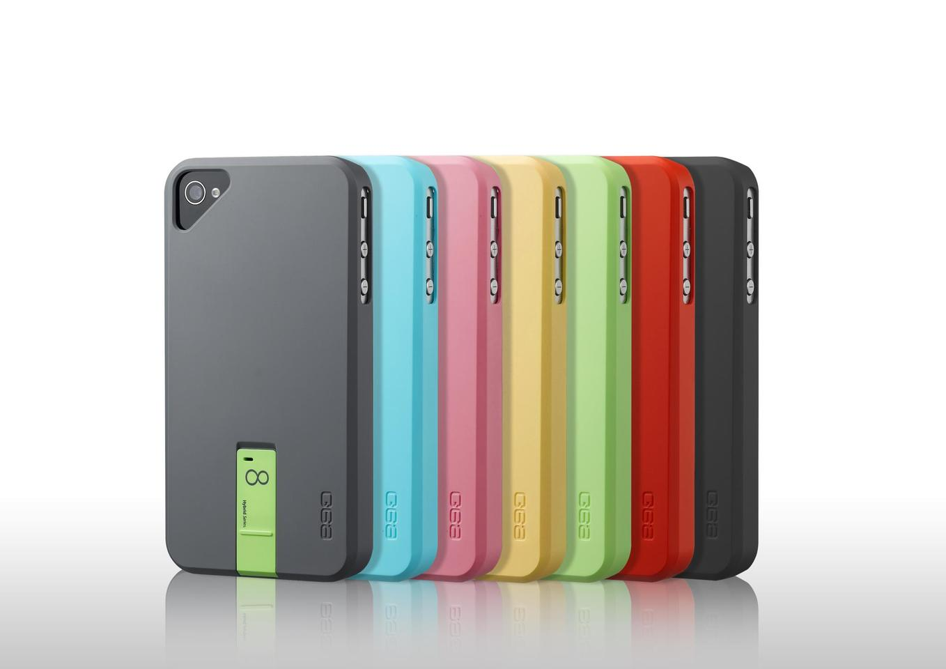 The Hybrid Series USB Case is an iPhone 4/4S case with a built-in removable Flash drive