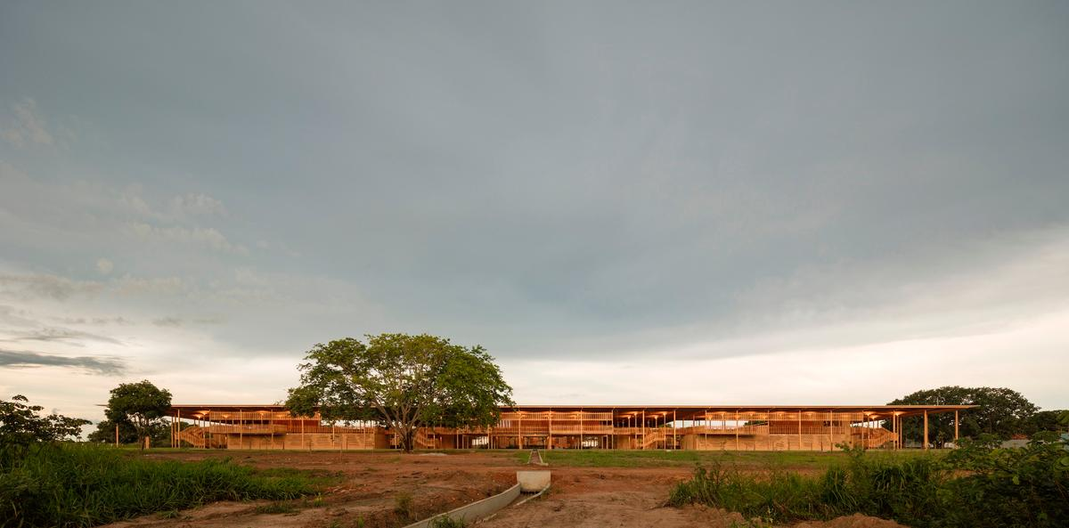 Children Village is located on the edge of the rainforest in northern Brazil