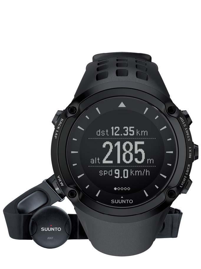 Equip the Suunto Ambit with a heart rate monitor for more detailed performance measurement
