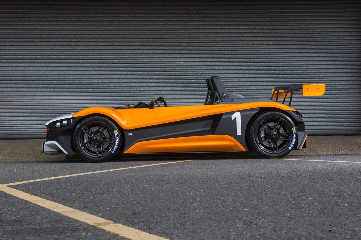 The VUHL 05RR premieres at the 2016 Goodwood Festival of Speed