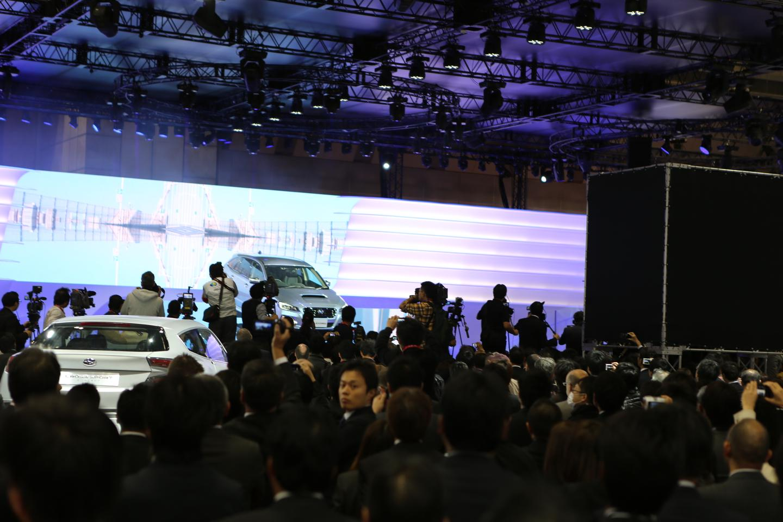 The Subaru Levorg at the Tokyo Motor Show
