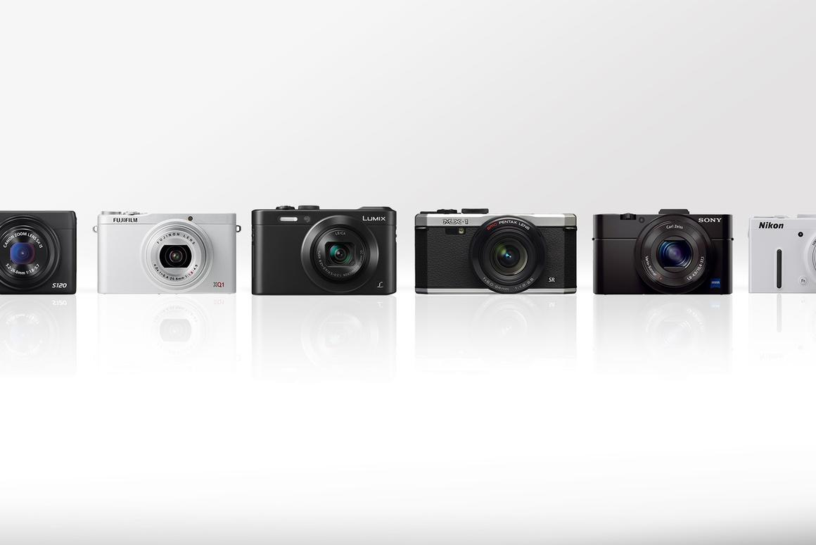 Gizmag's compact camera comparison guide looks at the features and specs of some of the best pocketable cameras on the market