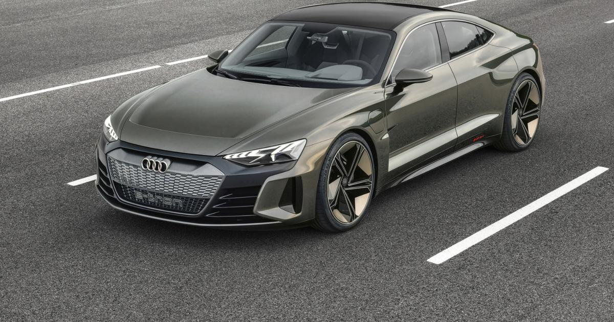 Audi goes vegan with the recycled interior of e-tron GT concept