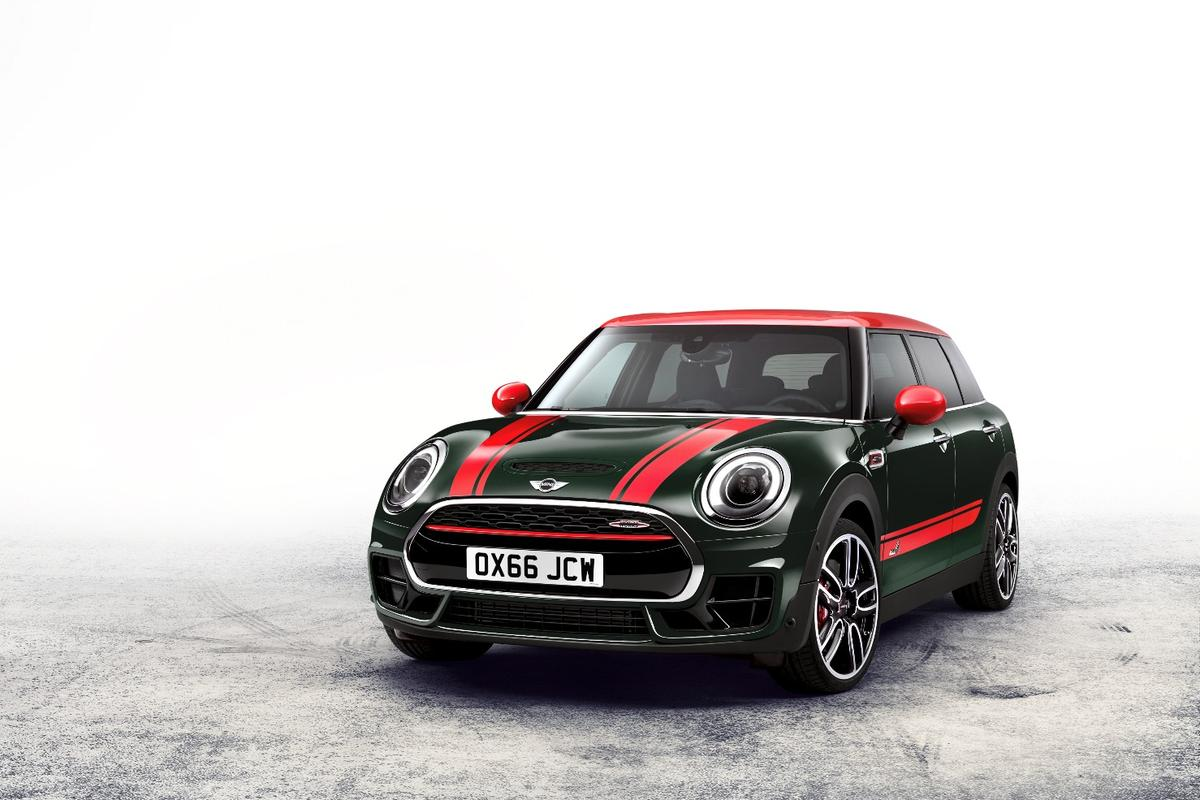 This JCW Clubman sports 231 horsepower (170 kW) from the engine, besting the Clubman S by 39 horses