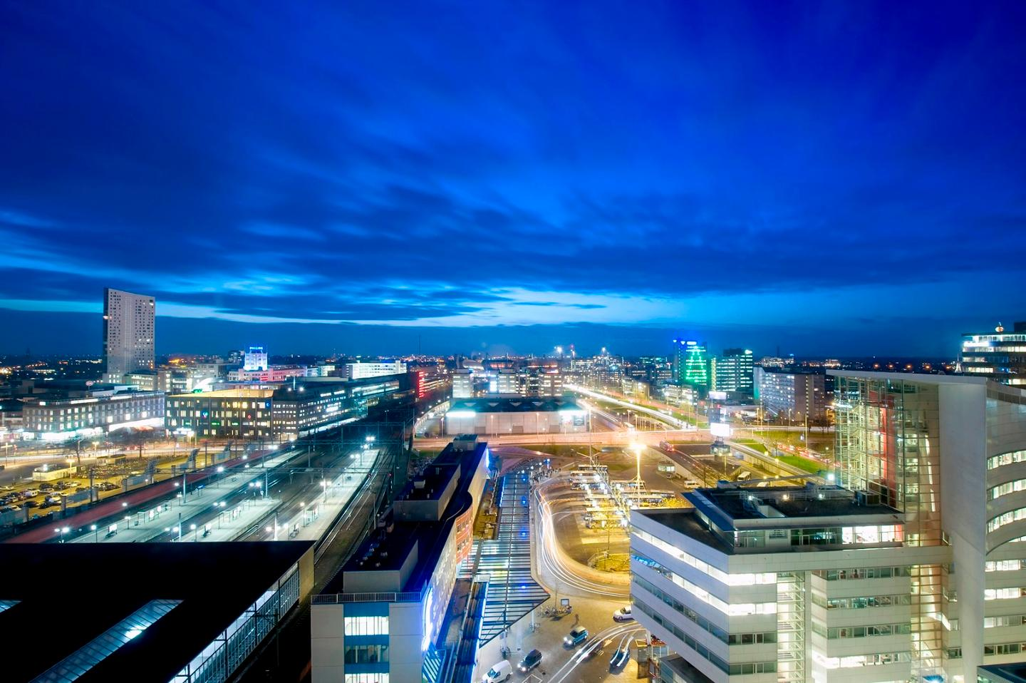 Eindhoven's smart street lighting could guide emergency services to incidents, use sensors to adapt lighting to weather conditions or provide lighting on demand when people are using the streets at night