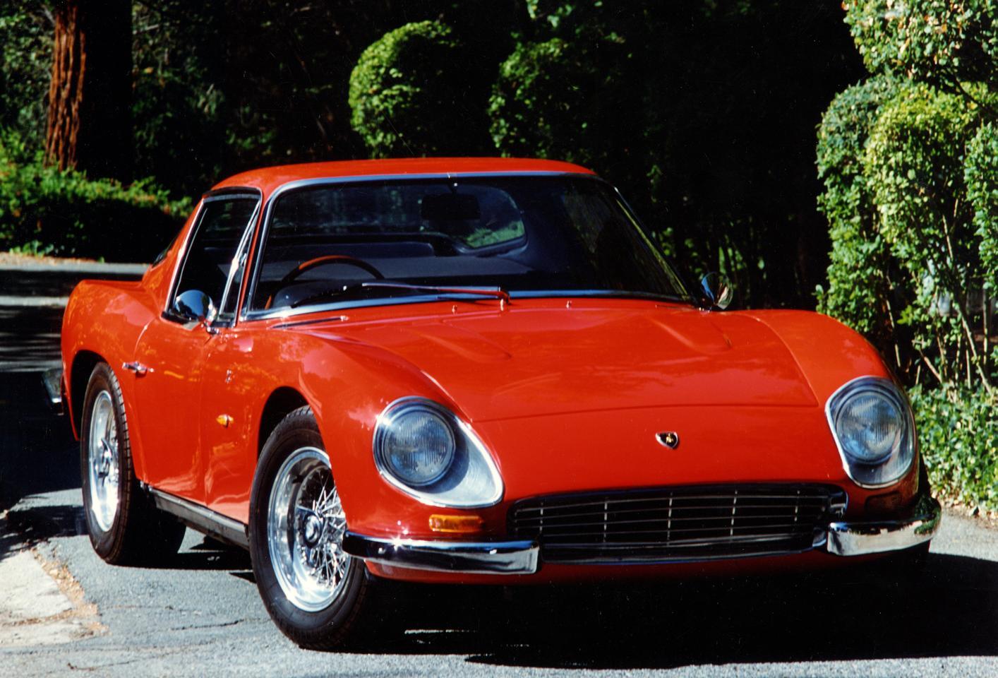 The 1965 Zagato-designed 3500 GTZ was built on the Lamborghini 350 GT