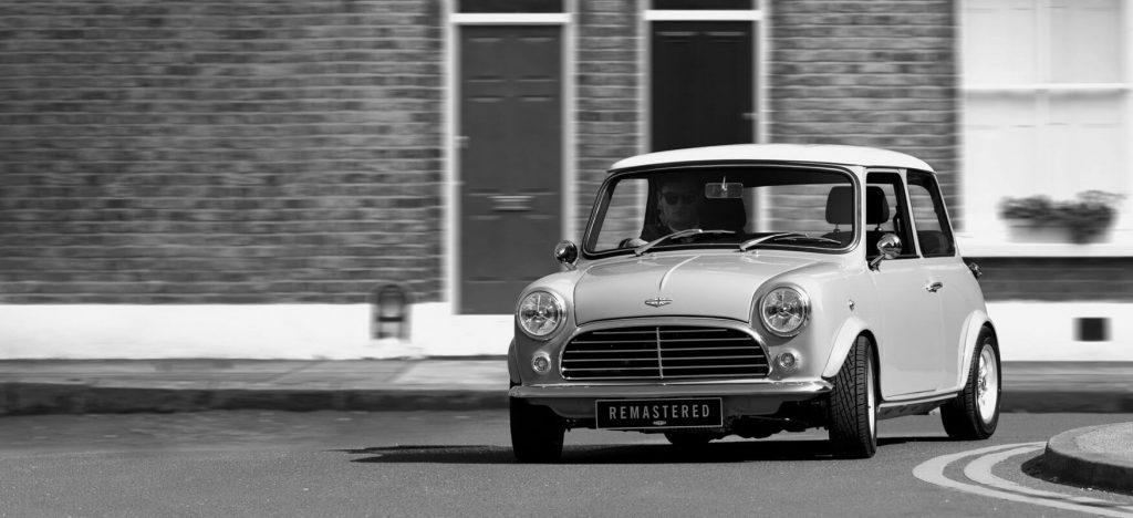 David Brown Automotive has modernized the classic Mini