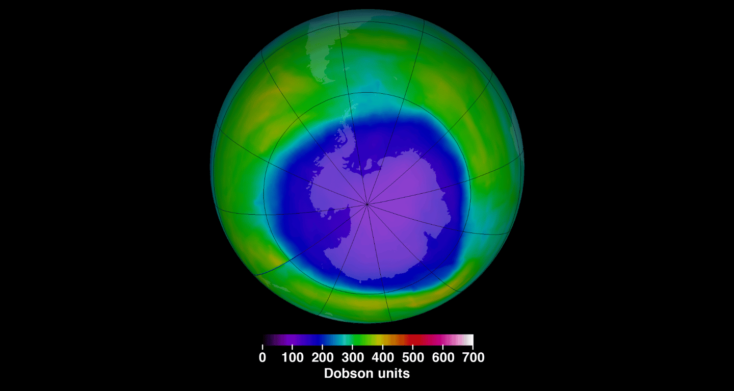 A new study investigates the effects of the hole in the ozone layer on climate change