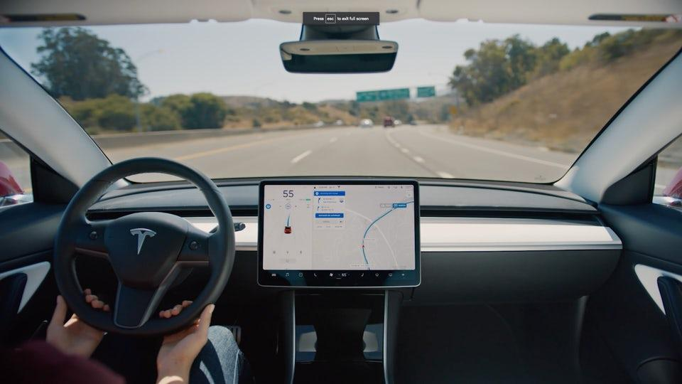 Tesla's Navigate with Autopilot feature was introduced last year