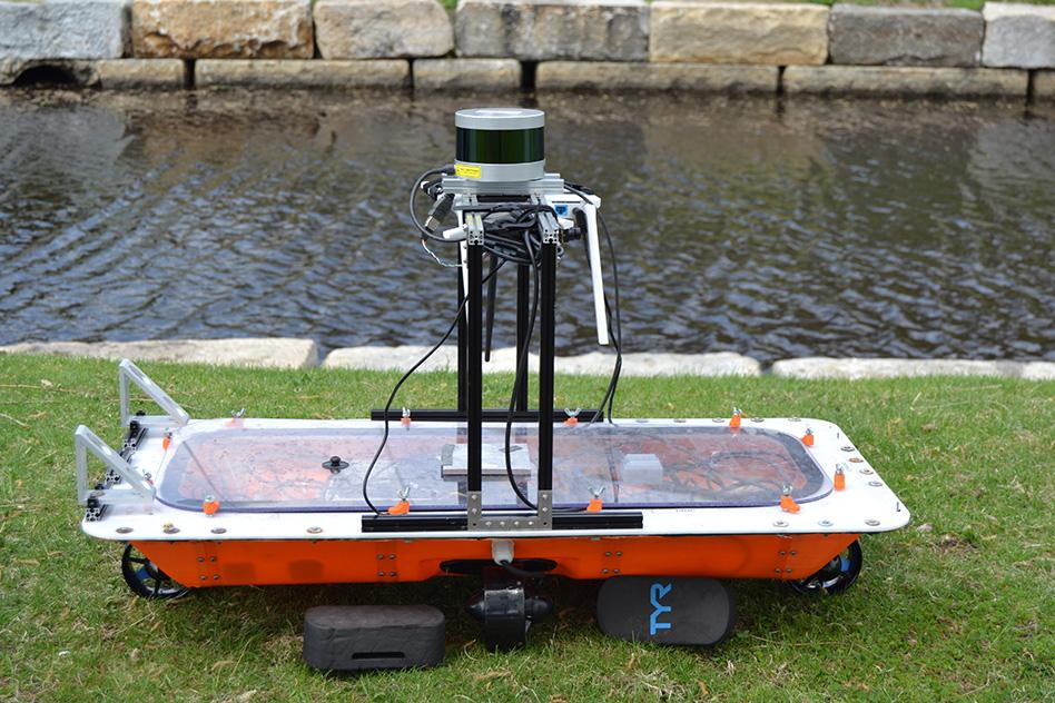 Autonomous RoBoats could eventually ferry people and cargo along canals, or join up to form floating bridges or jetties