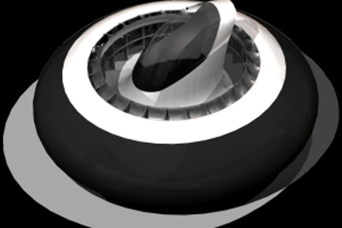 The Entecho hoverpod