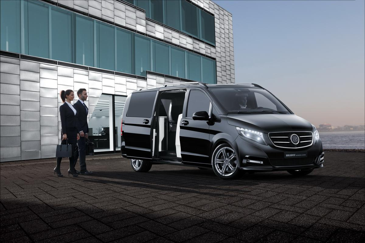 The Brabus V-Class Business Lounge looks likeone of the most comfortable ways to travel by highway
