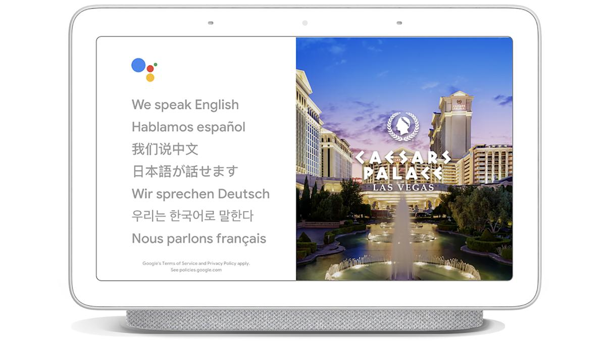 The Google Home Hub will soon be able to translate in real time for you