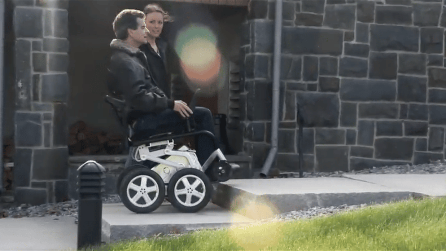 The original iBOT stair-climbing wheelchair was a life-changing mobility device for people with disabilities