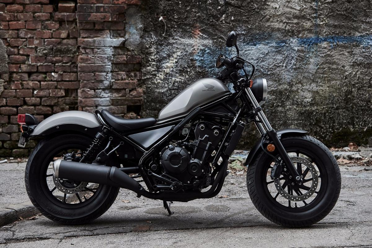 The all new Honda Rebel brings back memories of the small cruiser that made it big in the 1980s
