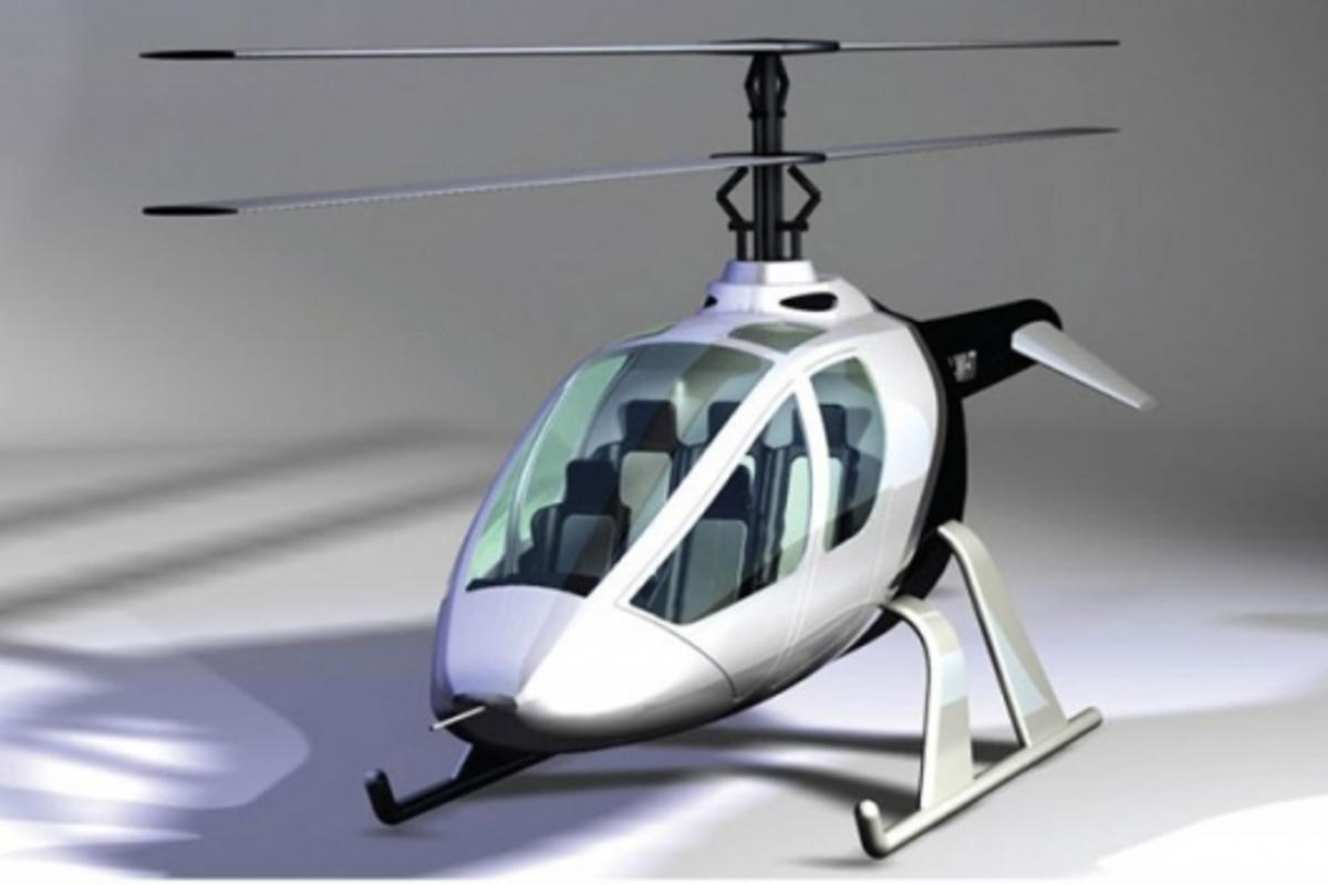 The CoaX 415T 5-seat helicopter is one of the models under development